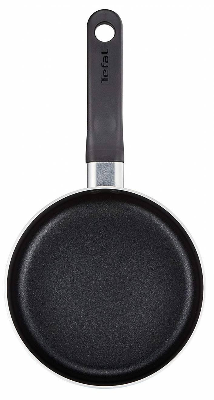 Tefal Delight 7 Pieces Non Stick Cookware Set - Black
