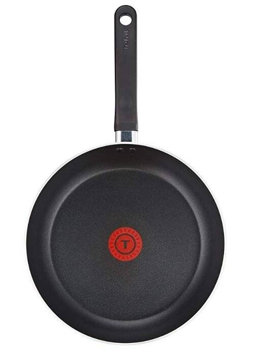 Tefal Delight Cookware Set - Black, 2 Pcs 24 cm and 28 cm