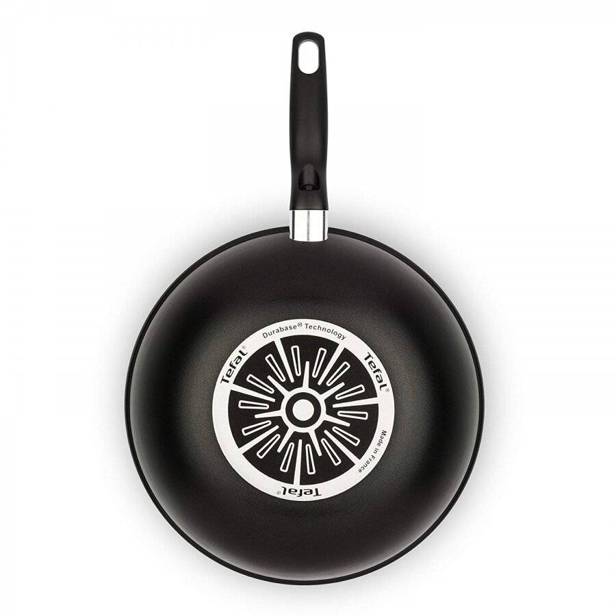 Tefal Extra Thermo-spot  Non Stick Stirfry Pan, 28 cm - Black