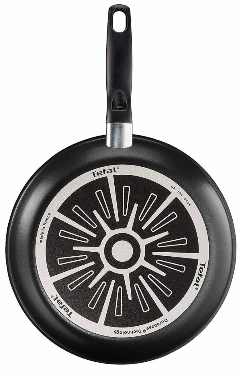 Tefal Extra Thermo-Spot Twin Fry Pan Set, 20/26 cm - Black