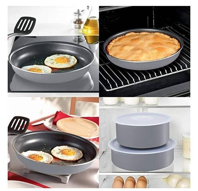 Tefal Ingenio l2048802 Set of 15 PCs Cookware Pots and Pan Set
