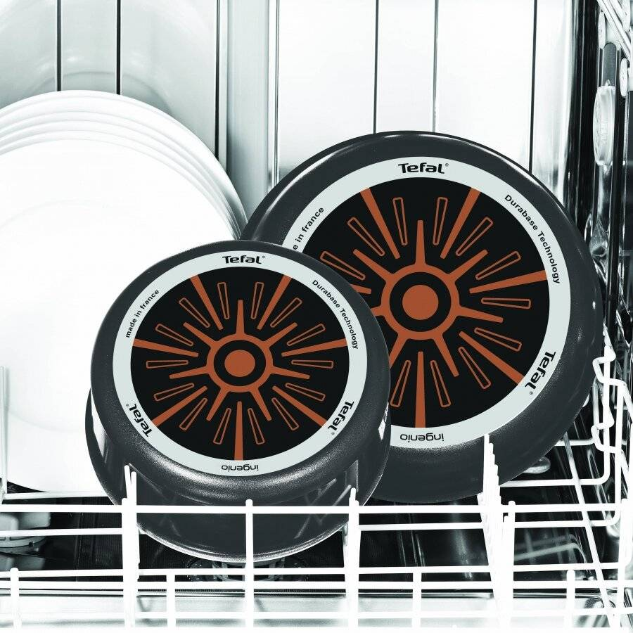 Tefal Ingenio Minute Power Glide 6 PCs Nonstick Cookware Pan Set