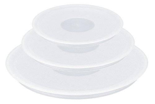 Tefal Ingenio Set of 3 Hermetic Plastic Lids - 16 / 18 / 20 cm