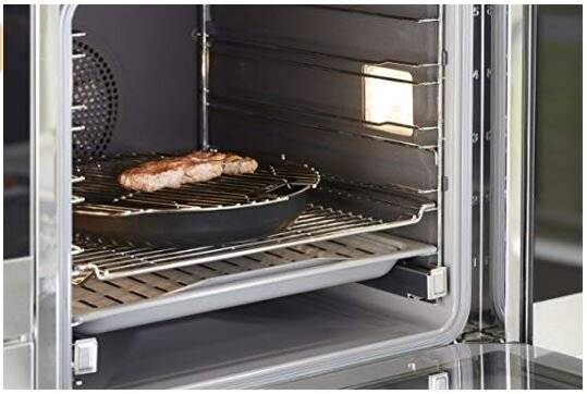 Tefal Ingenio Stainless Steel Grill Insert for 26 / 28cm Frying Pan