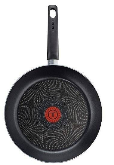 Tefal Invissia Powerglide Nonstick,Thermo-spot Frying Pan - 20 cm,Blk