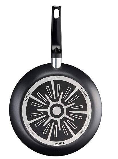 Tefal Invissia Powerglide Non-Stick ,Thermo-spot Frying Pan-20 cm,Blk