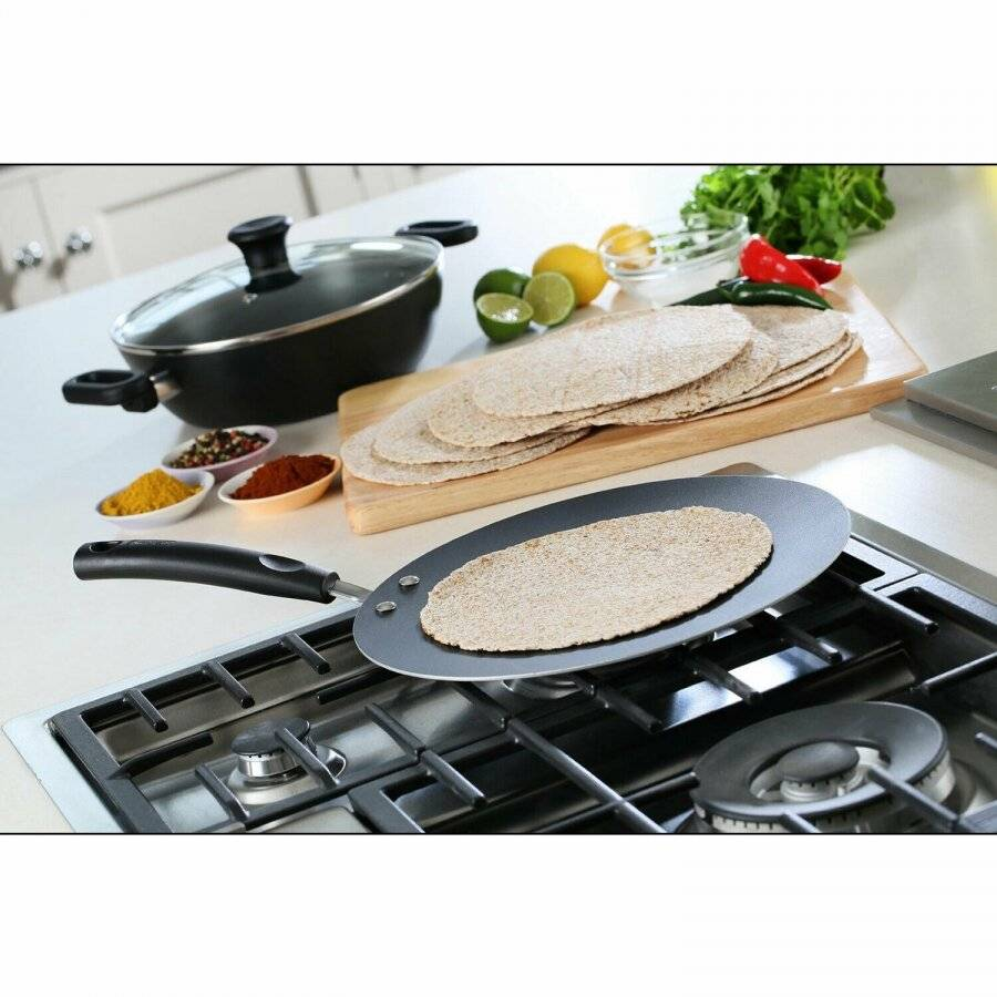 Tefal Madras Collection Non-Stick, 30 cm Chapati Pan