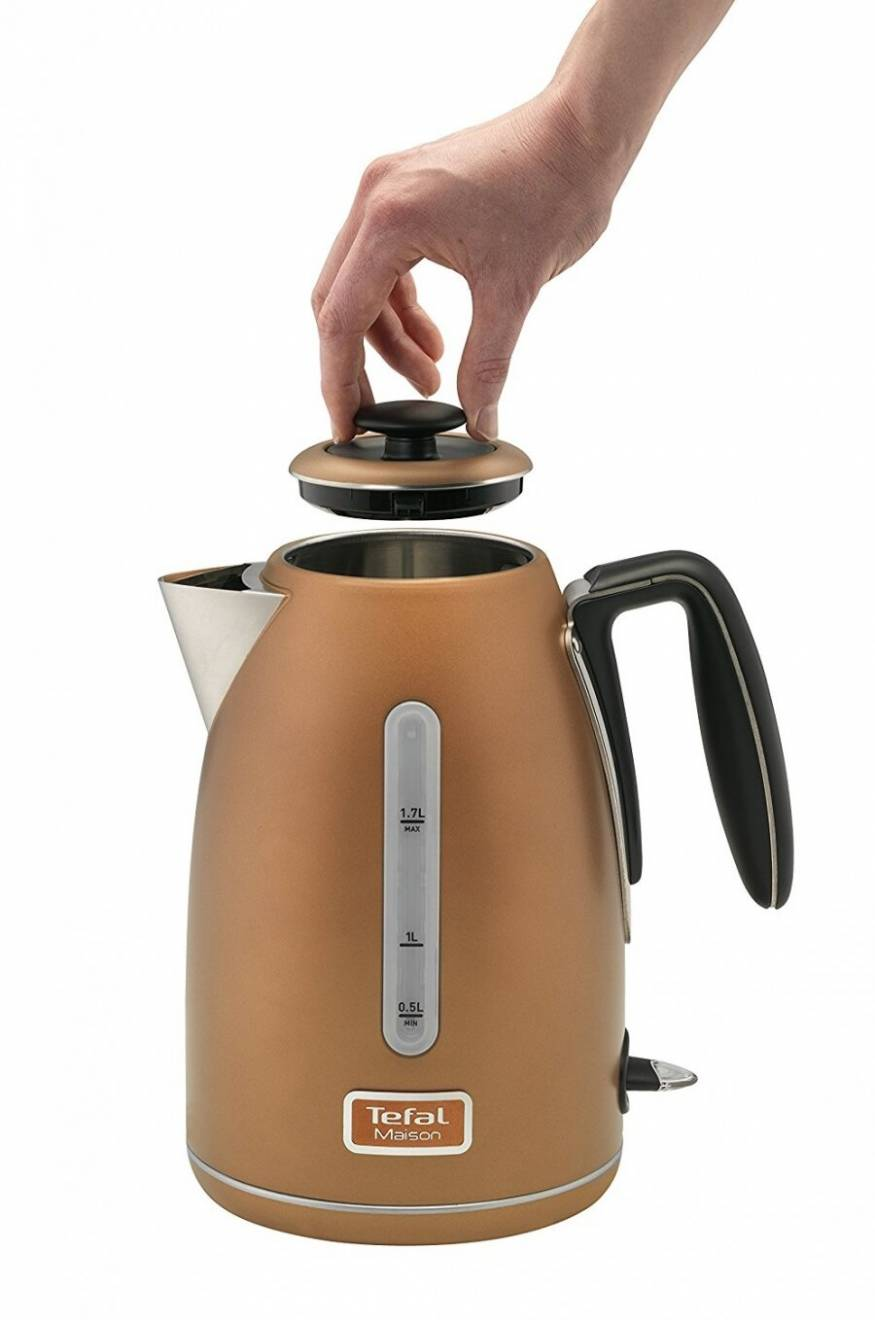Tefal Maison Stainless Steel Kettle - 1.7 L / Copper