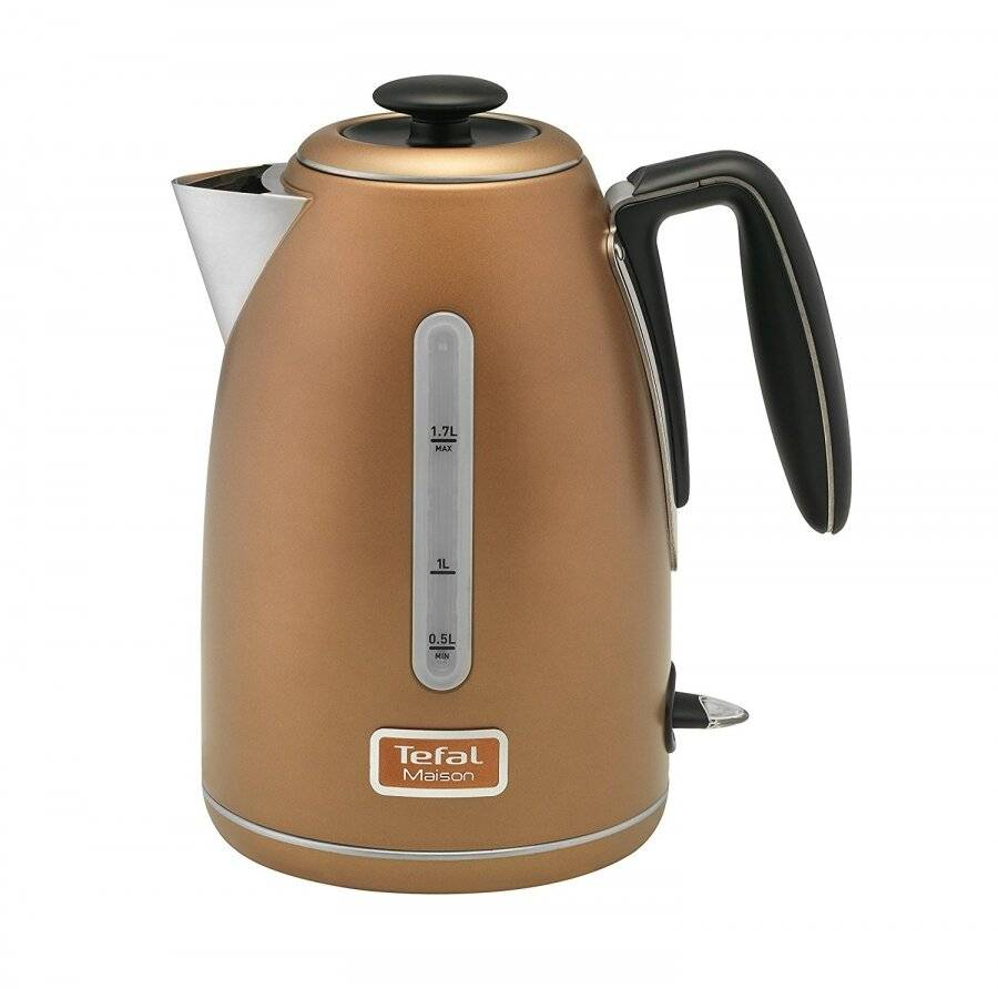 Tefal Maison Stainless Steel Kettle – 1.7L / Copper