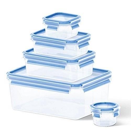 Tefal Master Seal Fresh Food Storage, 3.7 Litre, 5-Piece Set