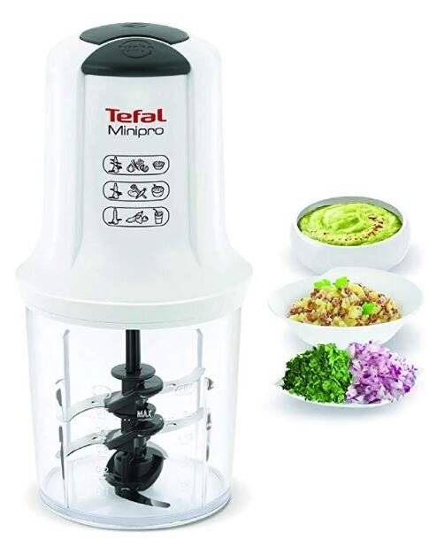 Tefal MQ714140 Mini pro With Removable Stainless Blades and 500ml BowL