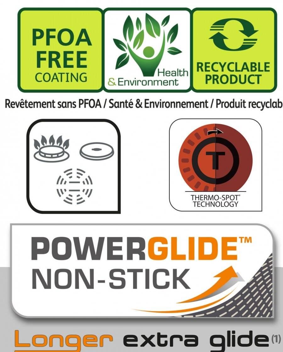 Tefal Origins B3700502 Non Stick Aluminium Deep Fry Pan, Black - 26 cm