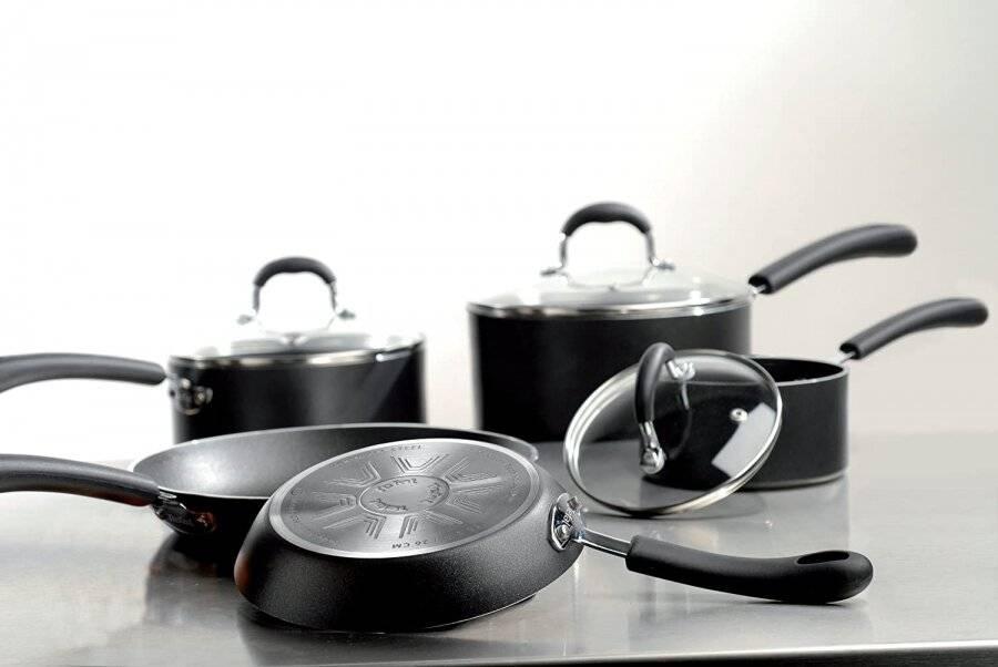 Tefal Premium Non-stick Cookware Set - Induction Compatible