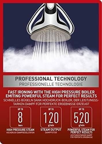Tefal Pro Express GV9550 High Pressure Steam Generator Iron,1.9 liters