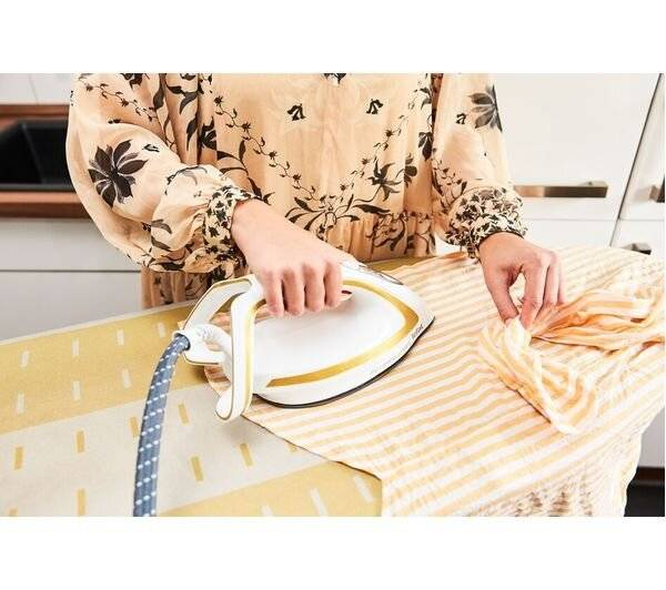 TEFAL Pro Express Ultimate GV9581 Steam Generator Iron - White/Gold