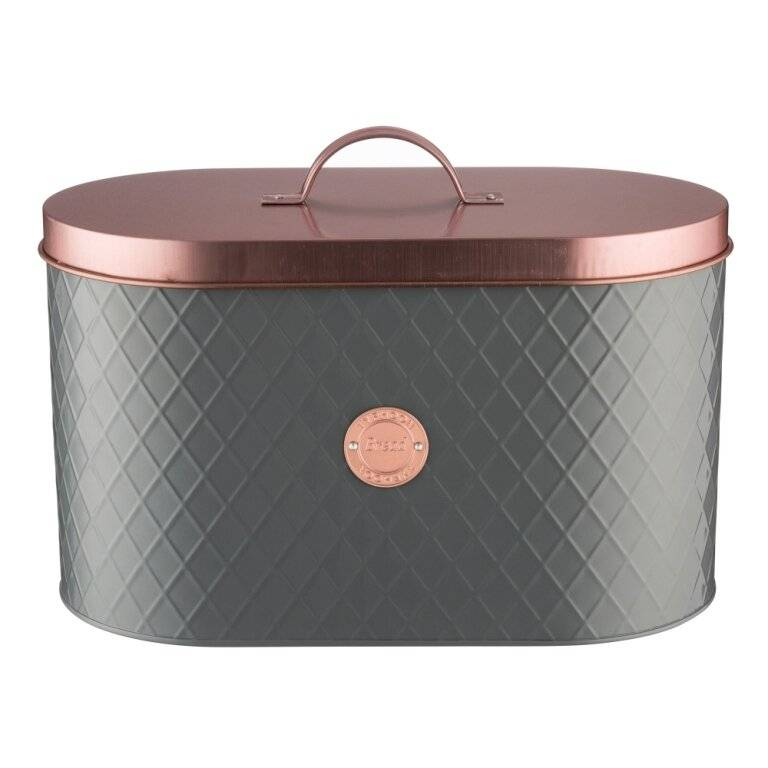 Typhoon Living Copper Lid Kitchen Storage Bread Bin
