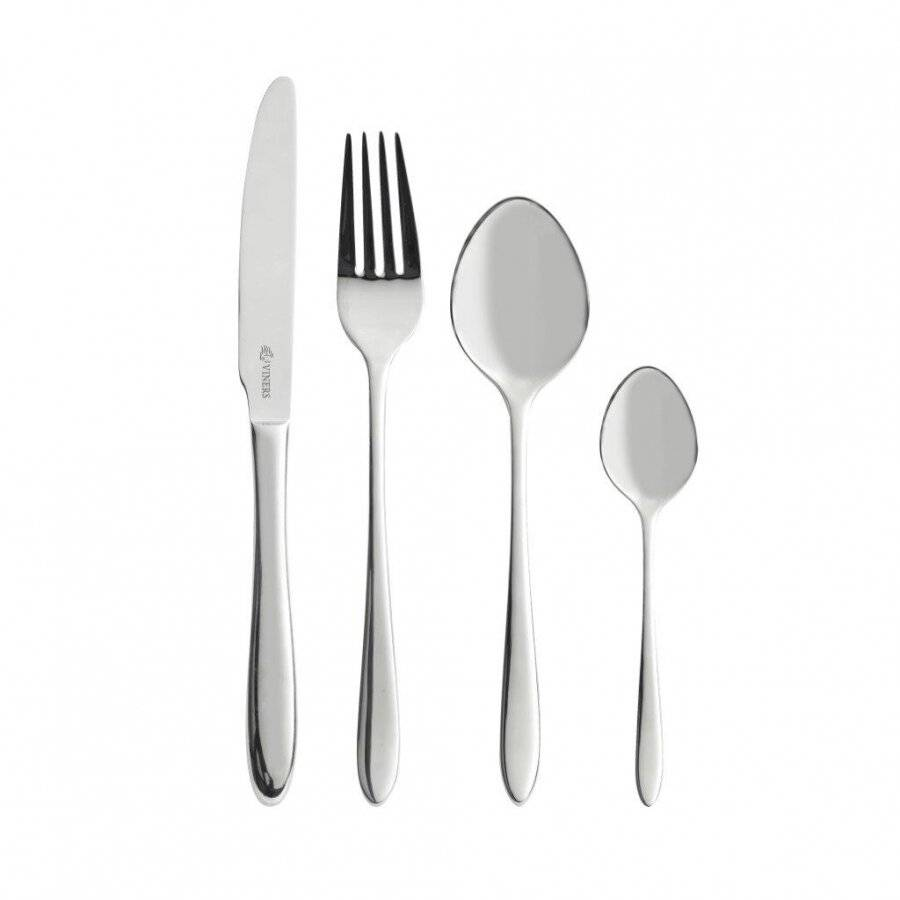Viners 452340A Eden 24 Piece Stainless Steel Cutlery Gift Box Set