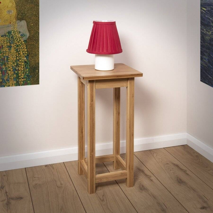 Woodluv Bamboo Freestanding Hallway, Bedroom, Living Room Table