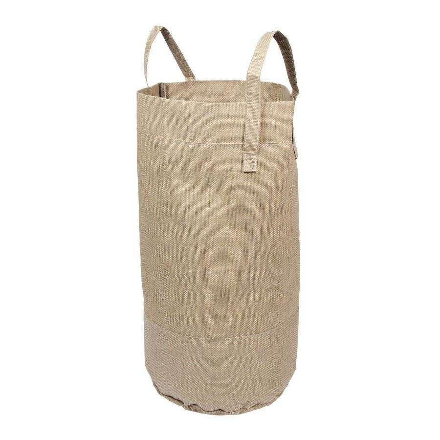 Woodluv Large Canvas Storage, Laundry Bag / Organizer