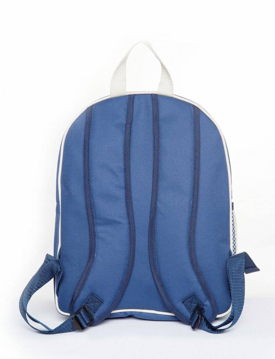 Woodluv Luxury Insulated Picnic Backpack For 4 Persons - Blue