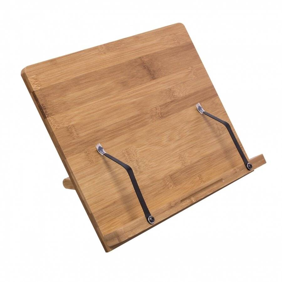 Woodluv Professional Bamboo Reading Foldable Cook book Stand